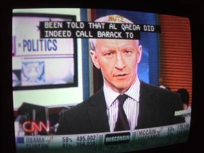 Osama Calls Obama to wish him a MazelTov!
