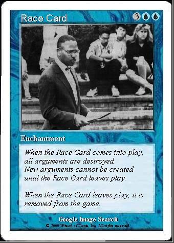 Obama's RaceCard