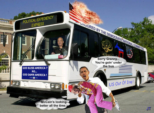 Jeremiah Wright emerges out from under Obama's bus