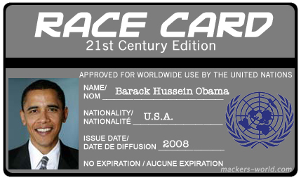 Barack Obama's Race Card