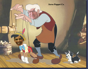 Obama's Puppetmaster George Soros