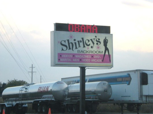 Truck Stop Strippers Love Obama