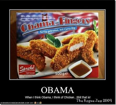 fingered Obama