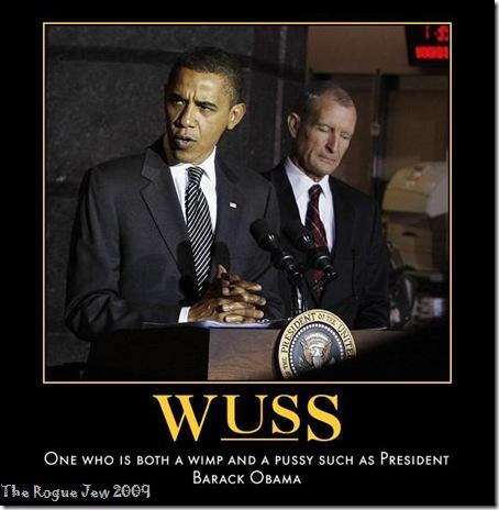 Obama Is A Wuss