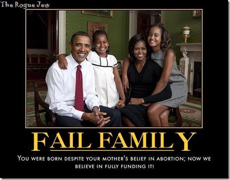 Fail Family Obama