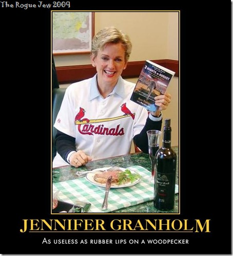 Jennifer Granholm Woodpecker