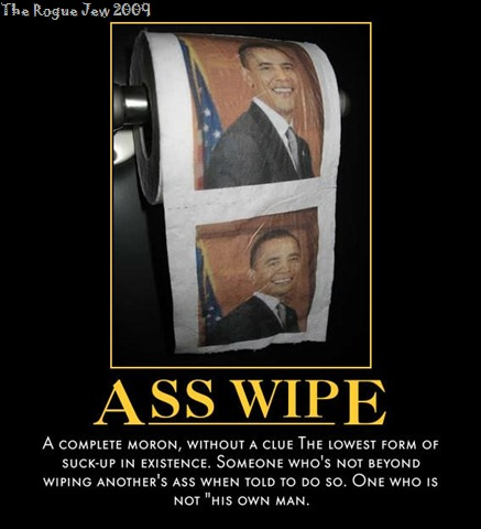 obama head on a ass